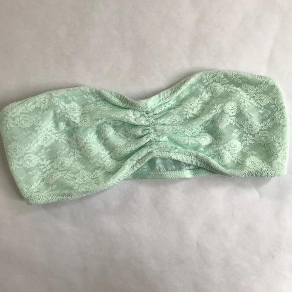 PINK Victoria's Secret Other - 5/$20 VS PINK Bandeau Bra Mint Green Medium